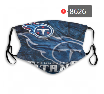 New 2020 Tennessee Titans Dust mask with filter