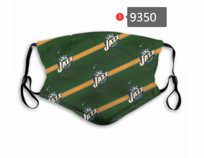 New 2020 Utah Jazz Dust mask with filter