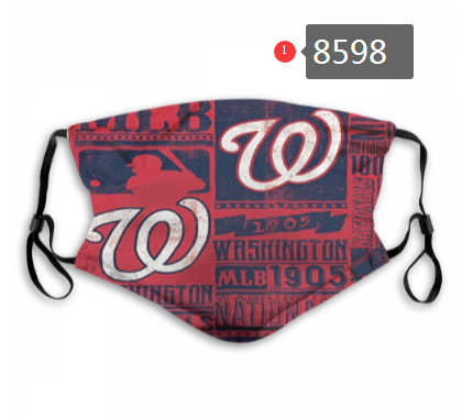 New 2020 Washington Nationals Dust mask with filter