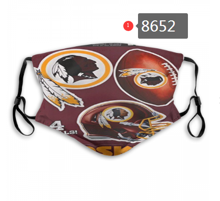 New 2020 Washington Redskins Dust mask with filter