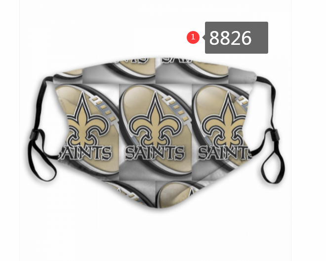 New Orleans Saints 4 Dust mask with filter