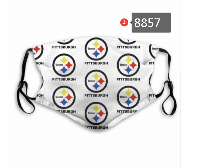 Pittsburgh Steelers 8 Dust mask with filter