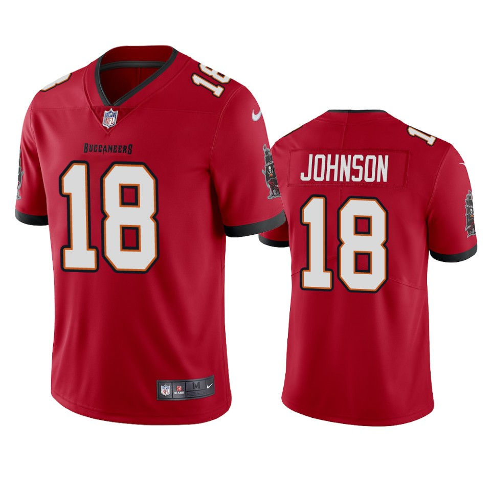 Tampa Bay Buccaneers Men Nike NFL 18 Tyler Johnson Red Vapor Untouchable Limited Jersey