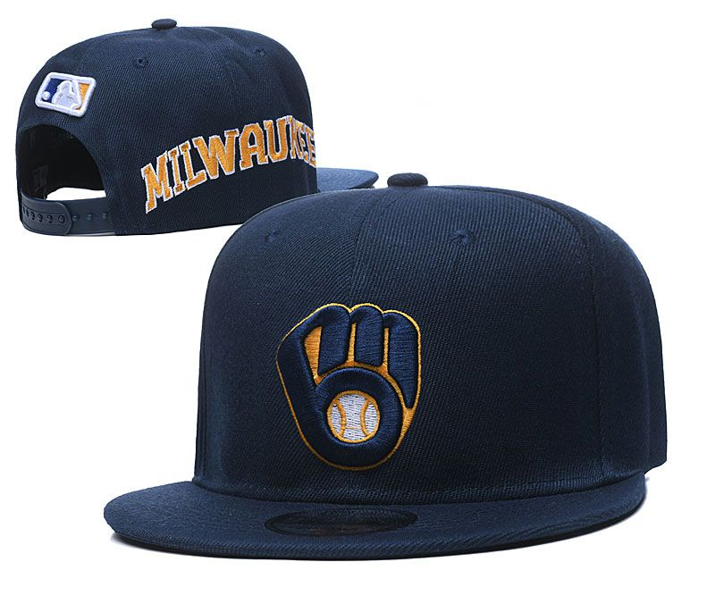 2020 MLB Milwaukee Brewers hat2020719