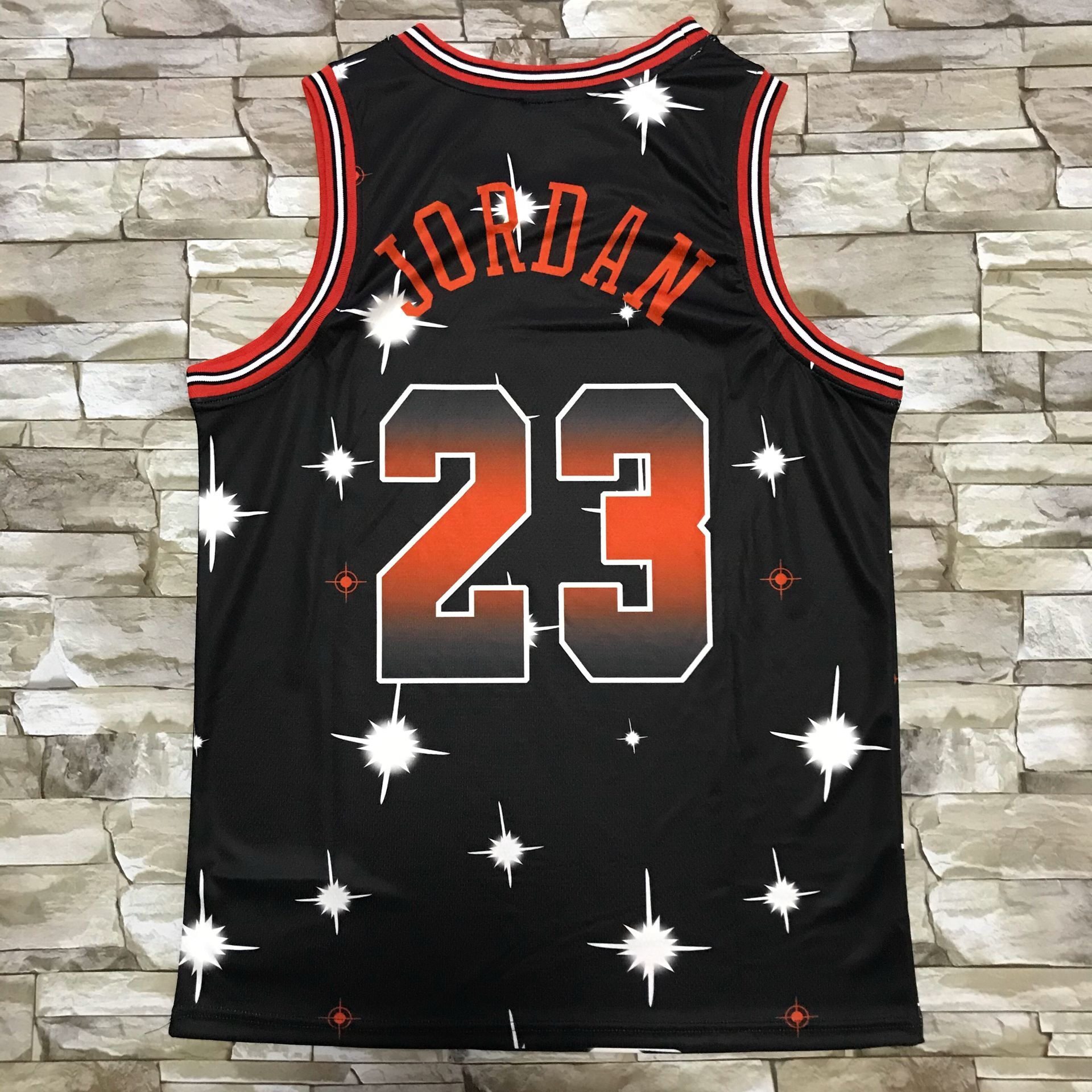 2020 Men Chicago Bulls 23 Jordan black Stitched new style NBA Jersey