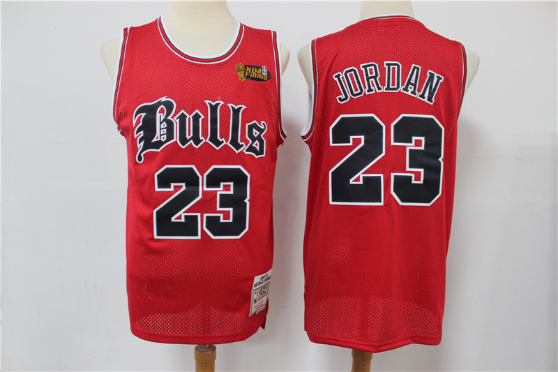 2020 Men Chicago Bulls 23 Jordan red Stitched NBA Jersey style 3