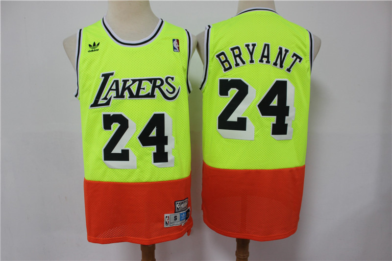 2020 Men Los Angeles Lakers 24 Bryant green new style Game Nike NBA Jerseys