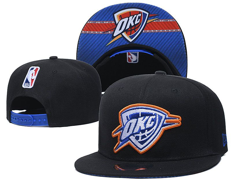 2020 NBA Oklahoma City Thunder hat2020719