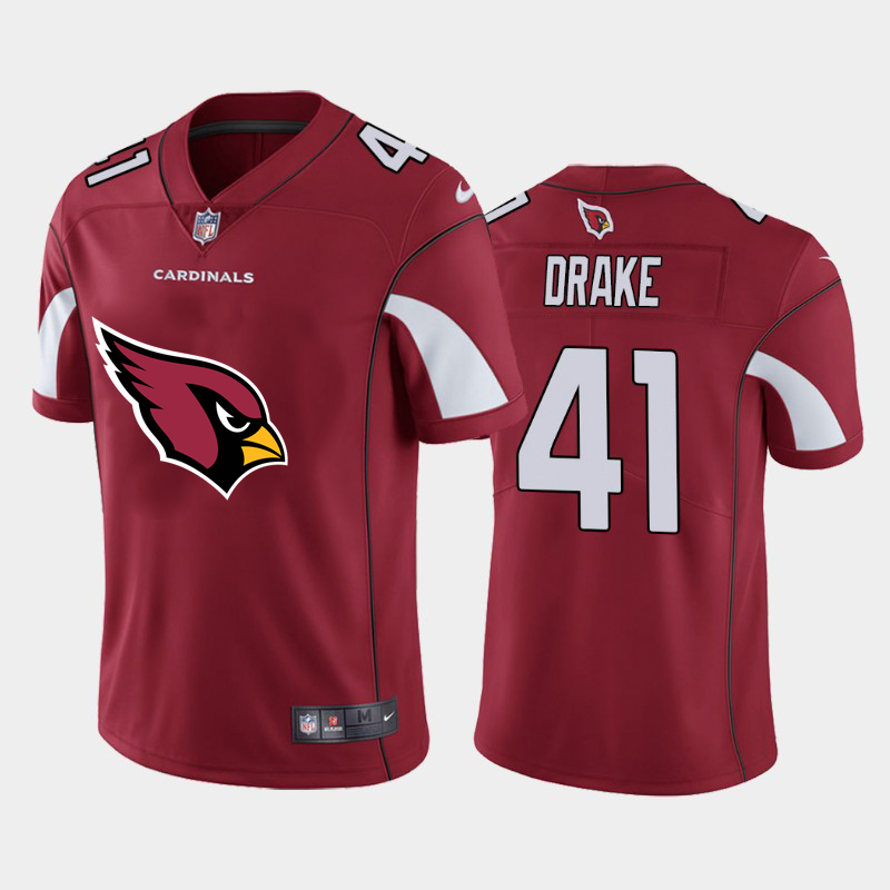 2020 Nike NFL Men Arizona Cardinals 41 Drake red Limited jerseys