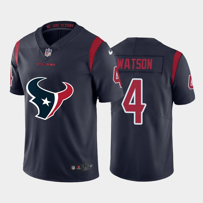 2020 Nike NFL Women Houston Texans 4 Watson blue Limited jerseys