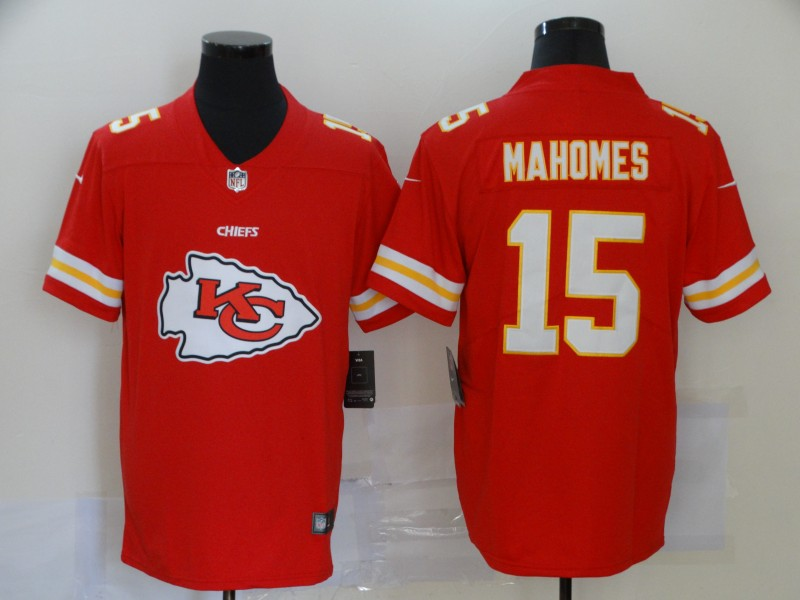 Men Kansas City Chiefs 15 Mahomes red Nike Vapor Untouchable Stitched Limited NFL fashion Jerseys 3