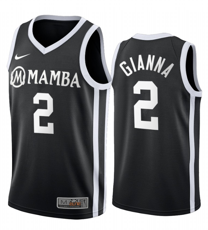 Men NCAA Mamba GIGI 2 Gianna black jerseys