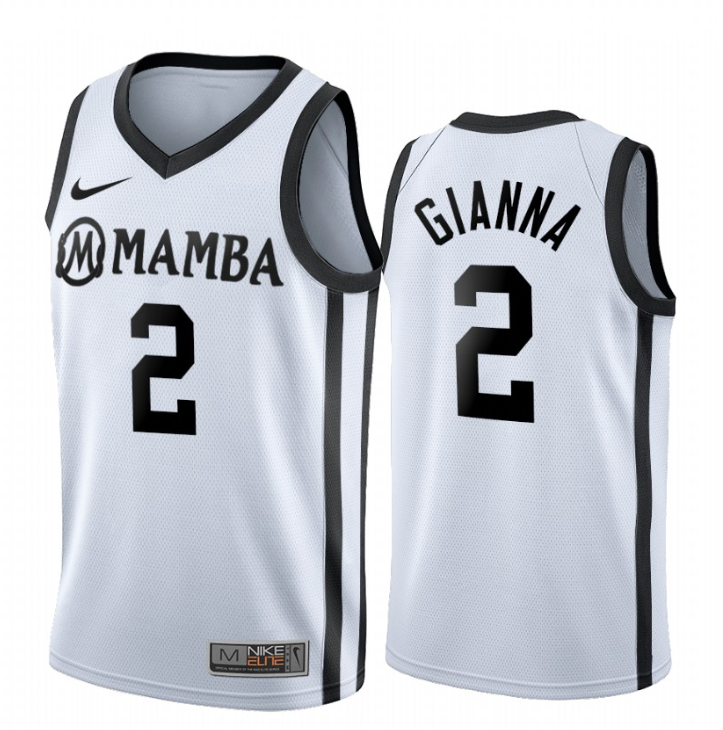 Men NCAA Mamba GIGI 2 Gianna white jerseys