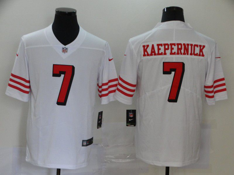 Men San Francisco 49ers 7 Kaepernick White New Nike Vapor Untouchable Limited NFL Jersey