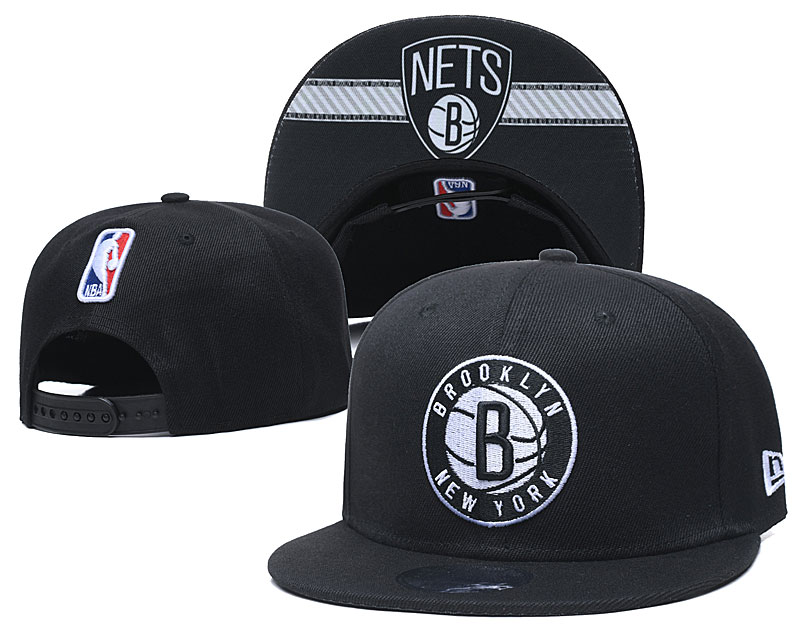 New 2020 NBA Brooklyn Nets hat