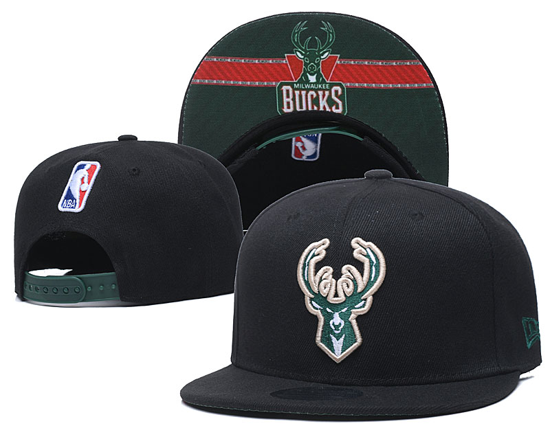 New 2020 NBA Milwaukee Bucks 3 hat