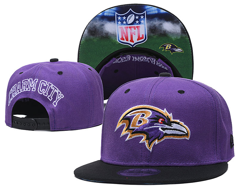 New NFL 2020 Baltimore Ravens 4 hat