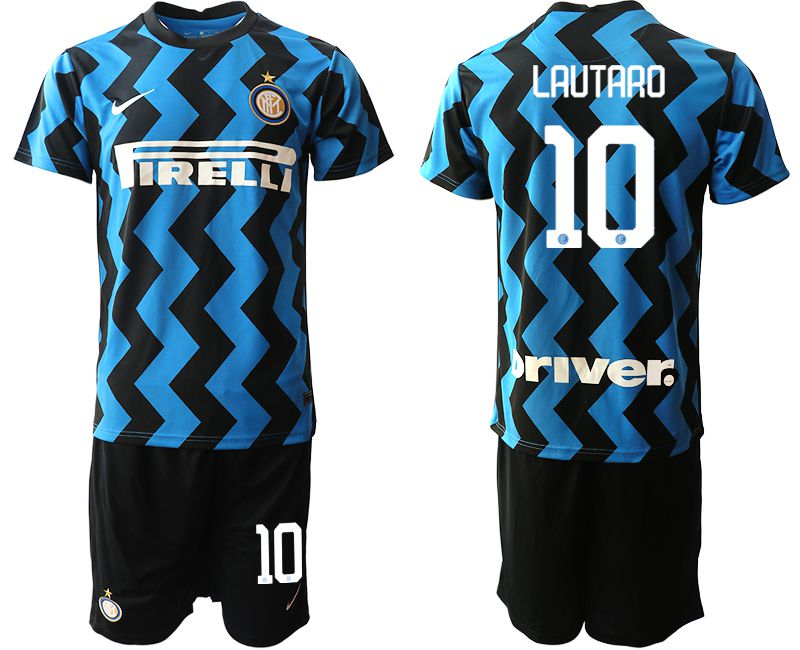 Cheap Men 2020-2021 club Inter milan home 10 blue Soccer Jerseys