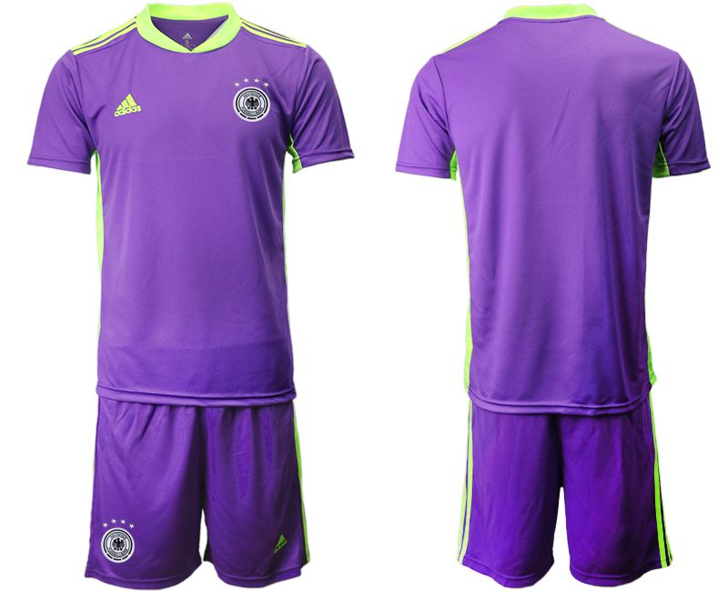 Wholesale Men 2021 World Cup National Germany purple goalkeeper Soccer Jerseys