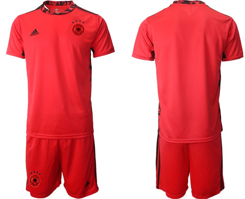 Wholesale Men 2021 World Cup National Germany red goalkeeper Soccer Jerseys