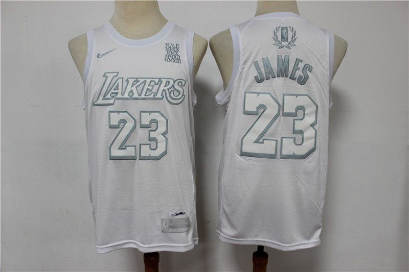 Wholesale Men Los Angeles Lakers 23 James White MVP Limited Edition Nike NBA Jerseys