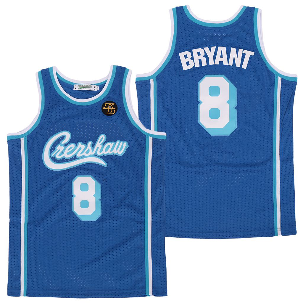 Wholesale Men Los Angeles Lakers 8 Bryant Blue 2020 KB Edition NBA Jerseys