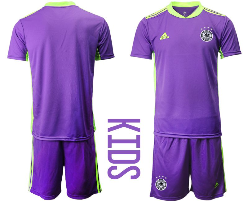 Wholesale Youth 2021 World Cup National Germany Russia purple goalkeeper Soccer Jerseys