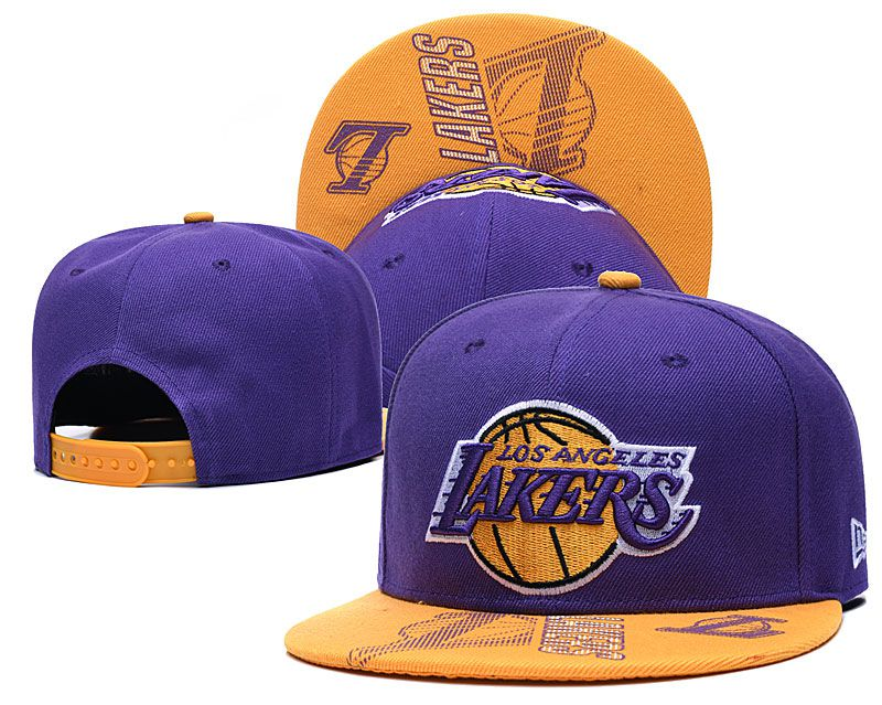 Wholesale 2020 NBA Los Angeles Lakers Hat 2020915