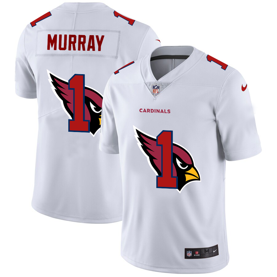 Cheap 2020 New Men Arizona Cardinals 1 Murray white Limited NFL Nike jerseys