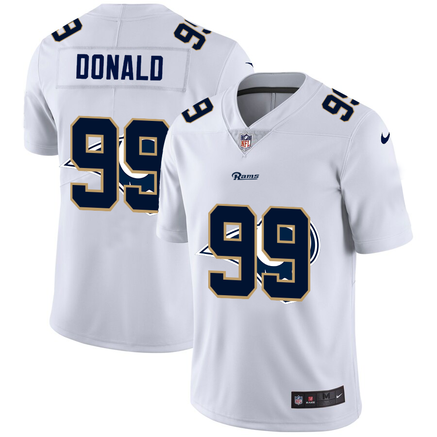 Cheap 2020 New Men Los Angeles Rams 99 Donald Limited NFL Nike jerseys