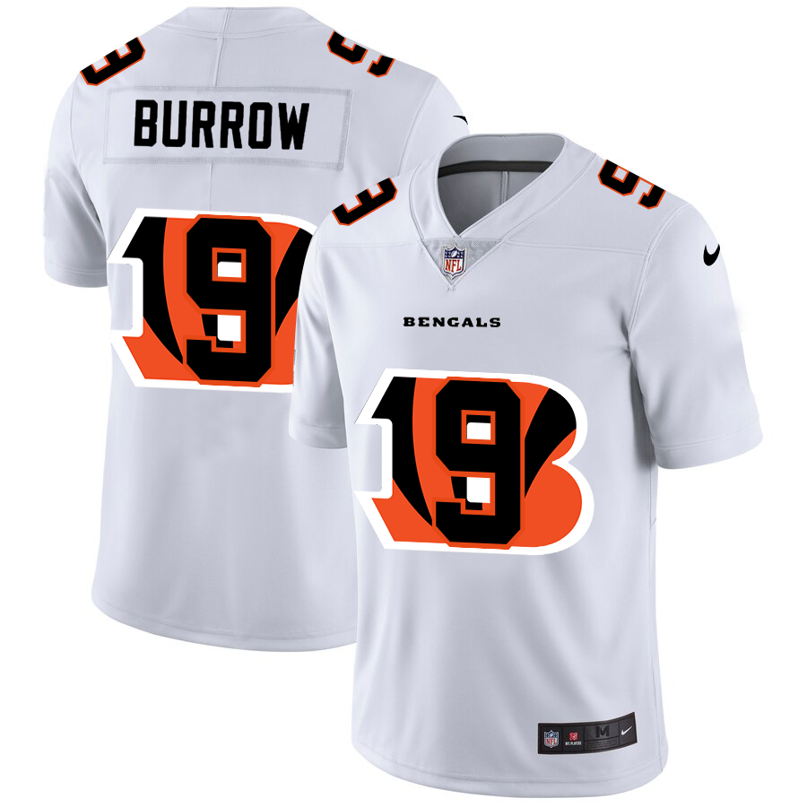 Cheap 2020 New Men New Nike Cincinnati Bengals 9 Burrow Limited NFL Nike jerseys