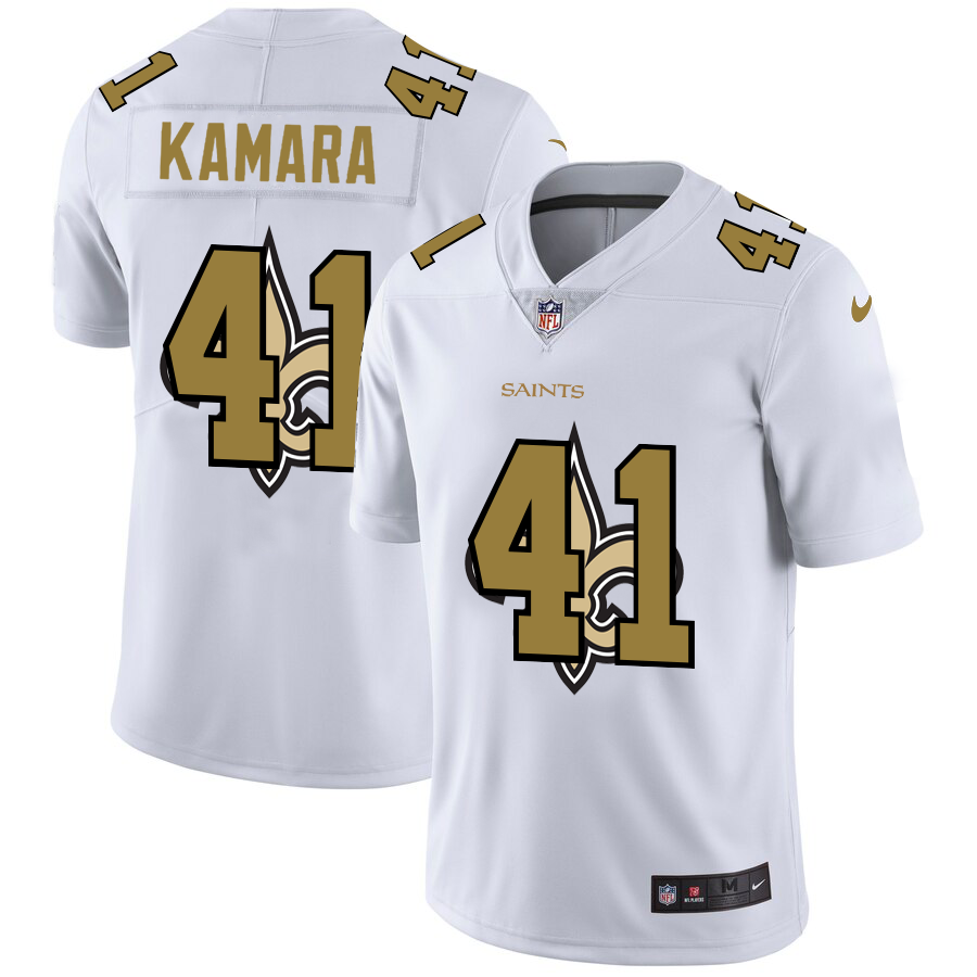 Cheap 2020 New Men New Orleans Saints 41 Kamara white Limited NFL Nike jerseys
