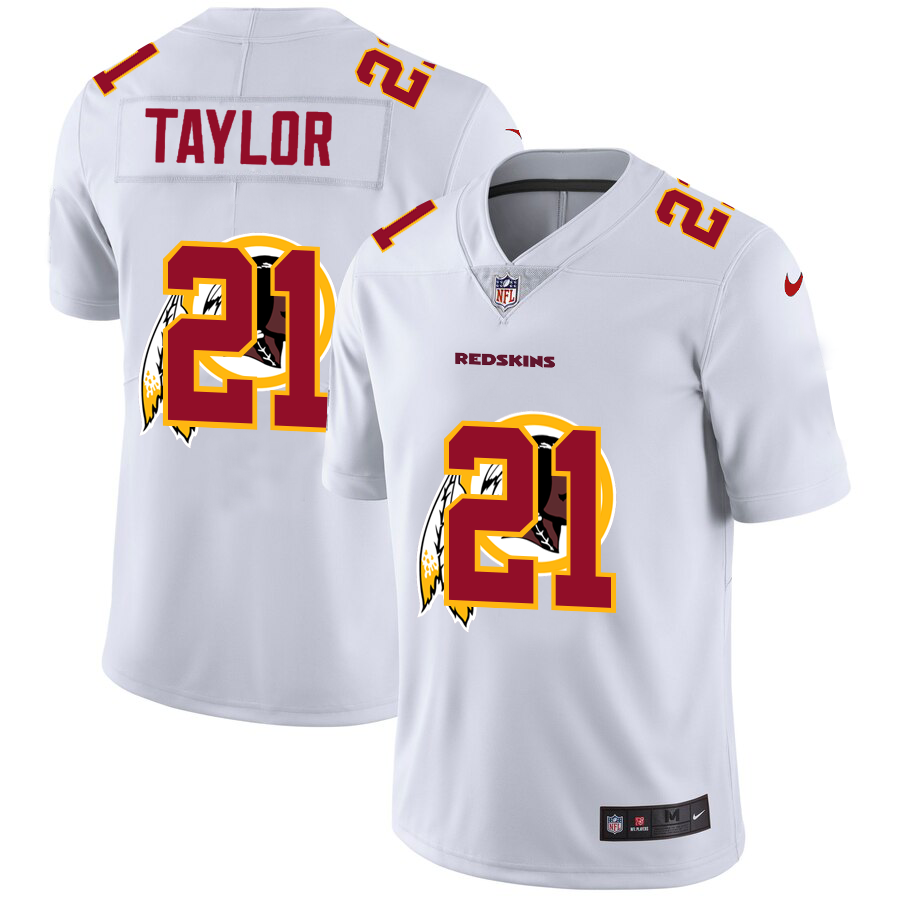 Cheap 2020 New Men Washington Red Skins 21 Taylor white Limited NFL Nike jerseys