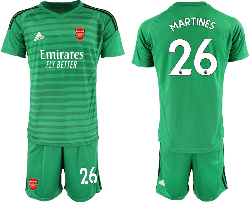 Cheap Men 2020-2021 club Arsenal green goalkeeper 26 Soccer Jerseys