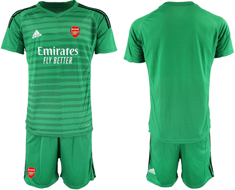 Cheap Men 2020-2021 club Arsenal green goalkeeper Soccer Jerseys
