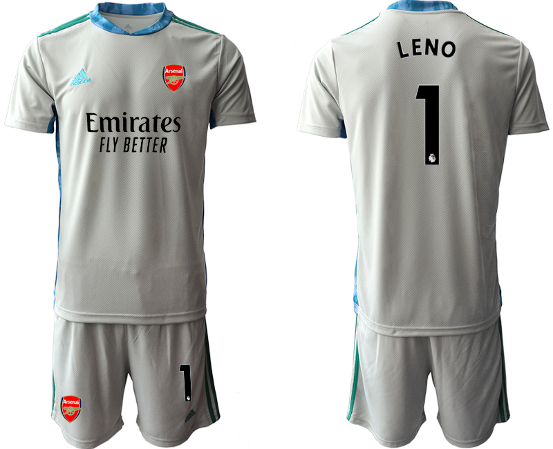 Cheap Men 2020-2021 club Arsenal grey goalkeeper 1 Soccer Jerseys