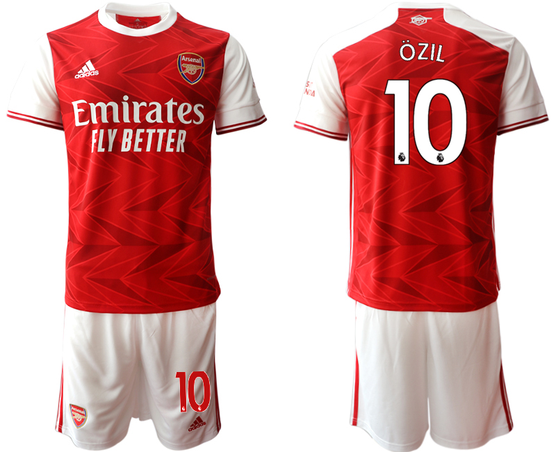 Cheap Men 2020-2021 club Arsenal home 10 red Soccer Jerseys
