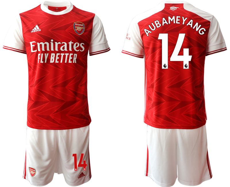 Cheap Men 2020-2021 club Arsenal home 14 red Soccer Jerseys