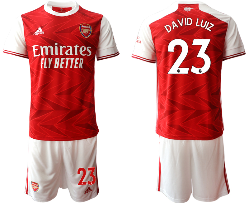 Cheap Men 2020-2021 club Arsenal home 23 red Soccer Jerseys