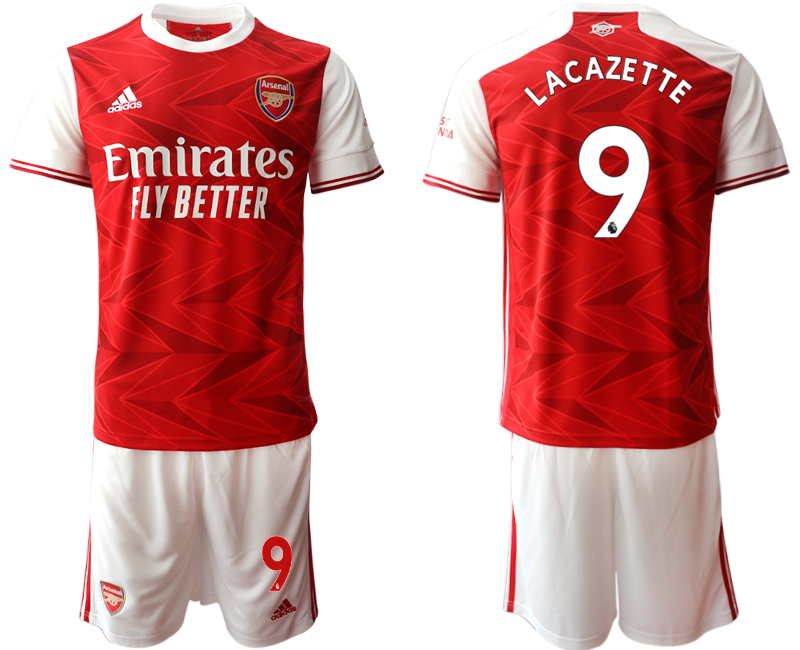 Cheap Men 2020-2021 club Arsenal home 9 red Soccer Jerseys