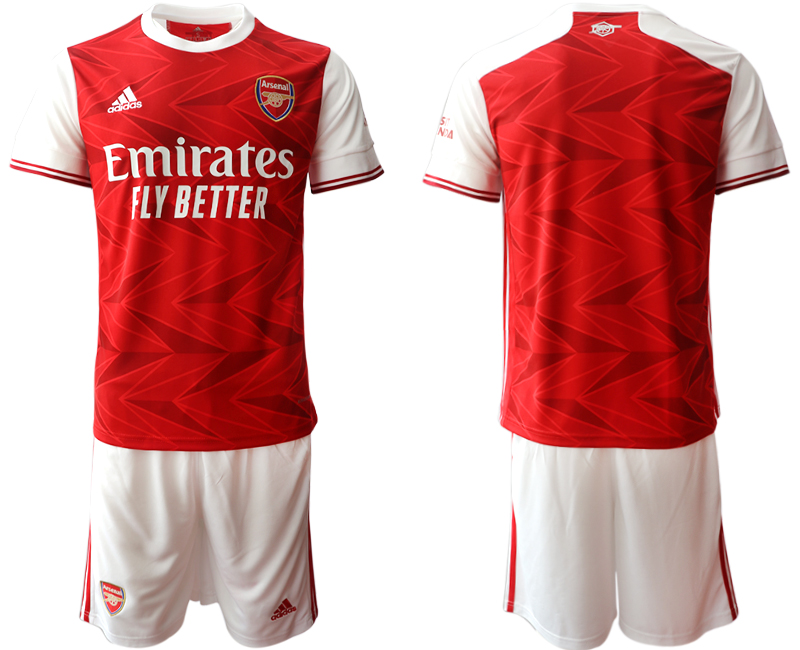 Cheap Men 2020-2021 club Arsenal home blank red Soccer Jerseys