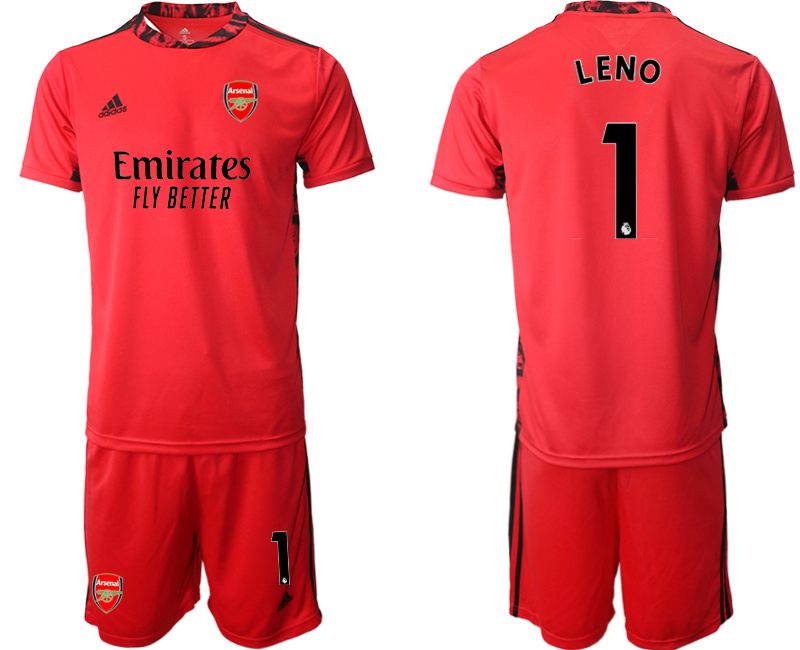 Cheap Men 2020-2021 club Arsenal red goalkeeper 1 Soccer Jerseys