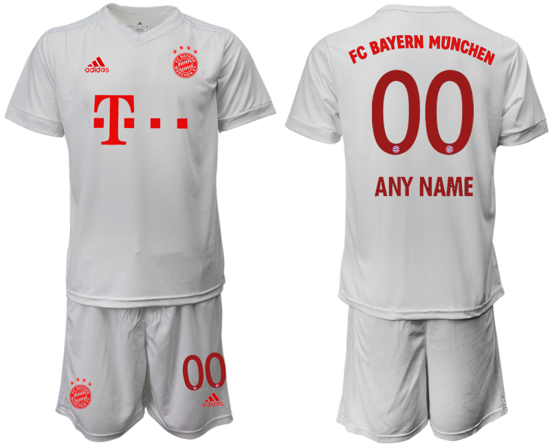 Wholesale Men 2020-2021 club Bayern Munich away customized white goalkeeper Soccer Jerseys