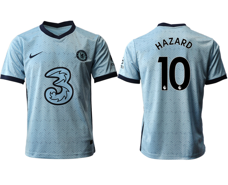 Cheap Men 2020-2021 club Chelsea away aaa version 10 Light blue Soccer Jerseys