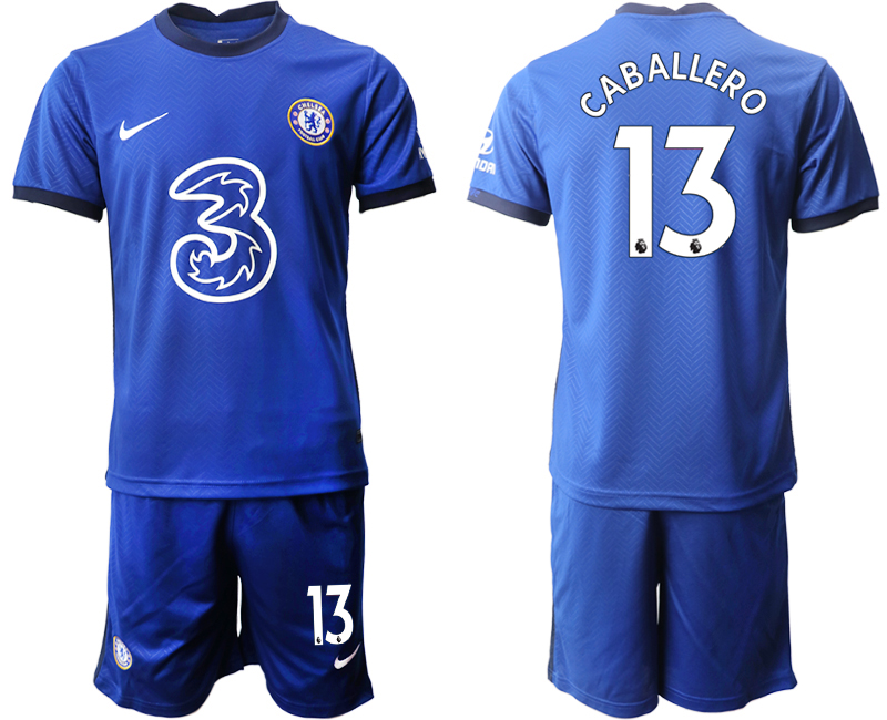 Cheap Men 2020-2021 club Chelsea home 13 blue Soccer Jerseys