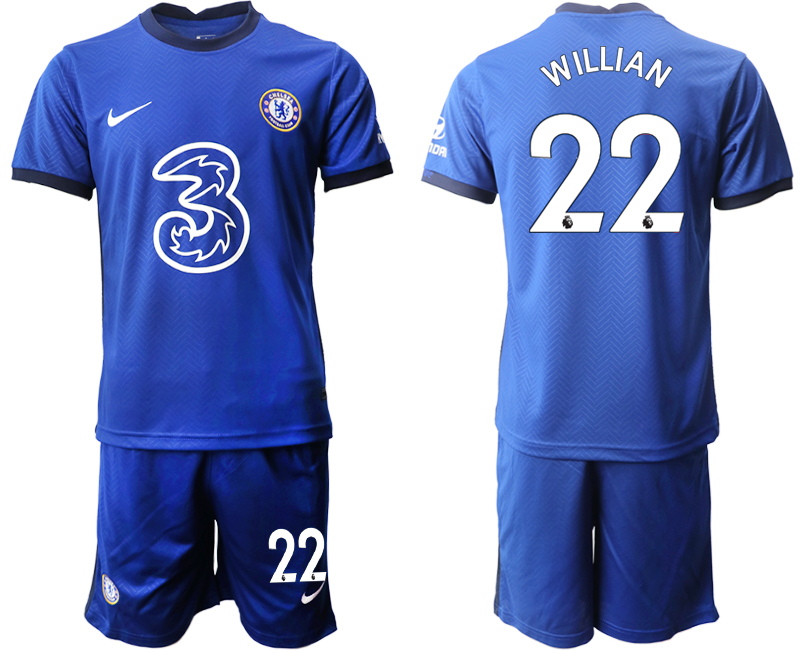 Cheap Men 2020-2021 club Chelsea home 22 blue Soccer Jerseys1