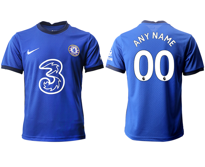 Cheap Men 2020-2021 club Chelsea home aaa version customized blue Soccer Jerseys