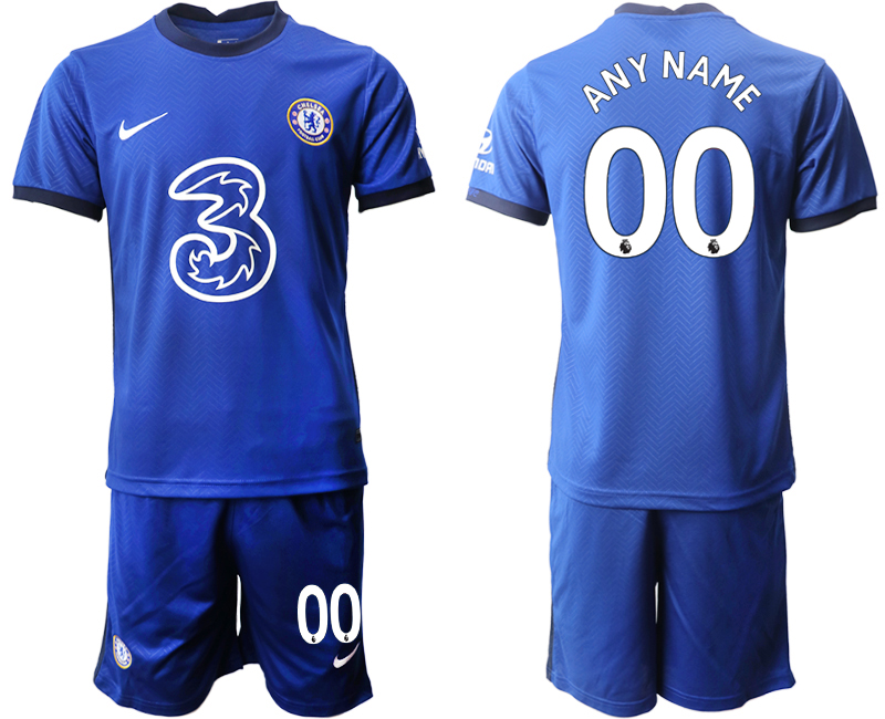 Wholesale Men 2020-2021 club Chelsea home customized blue Soccer Jerseys