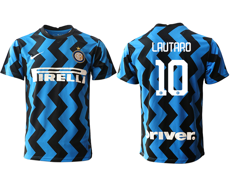 Cheap Men 2020-2021 club Inter Milan home aaa versio 10 blue Soccer Jerseys