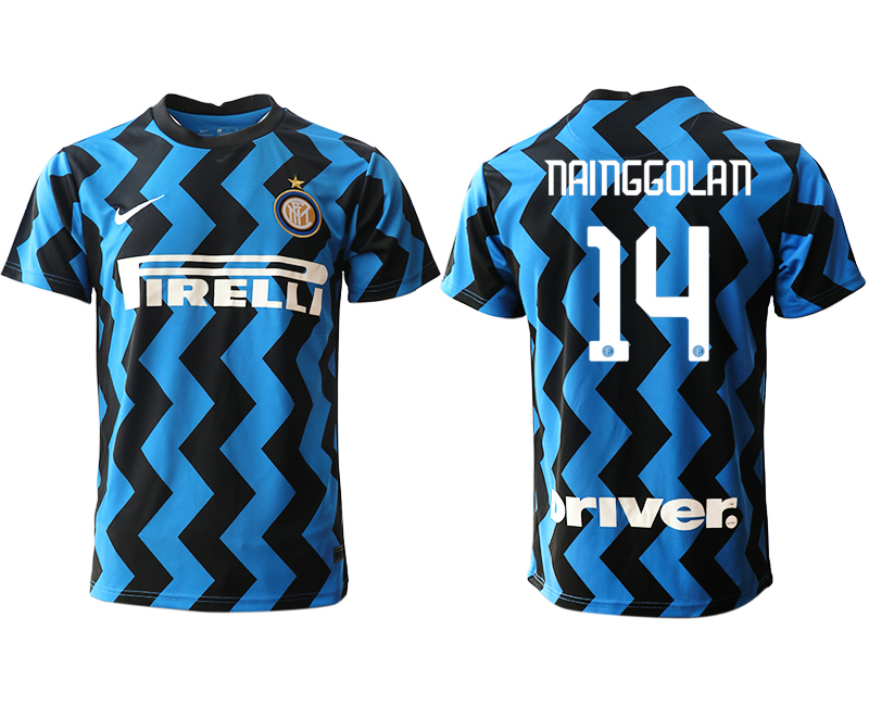 Cheap Men 2020-2021 club Inter Milan home aaa versio 14 blue Soccer Jerseys
